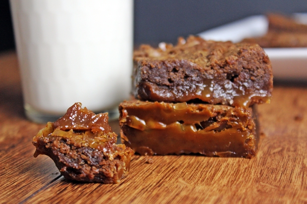 Caramel-Brownie-Bite
