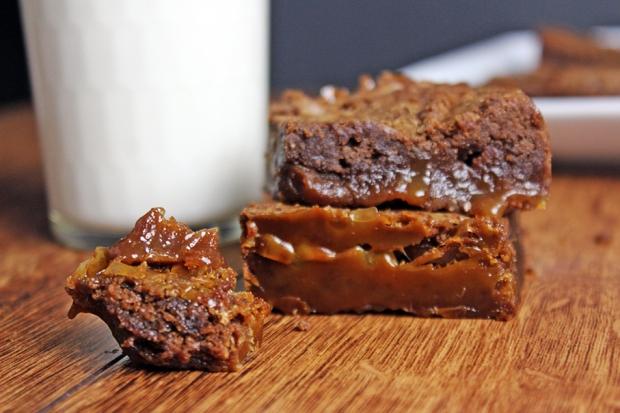 Caramel-Brownie-Bite
