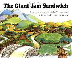 giant jam sandwich