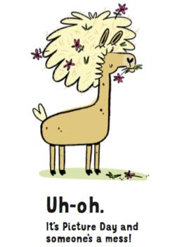 llama 1st page screen shot