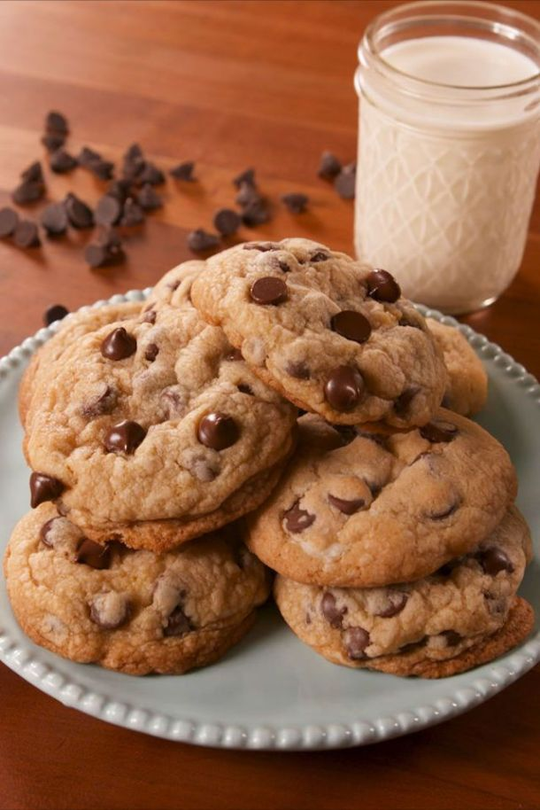 choc chip cheesecake cookies