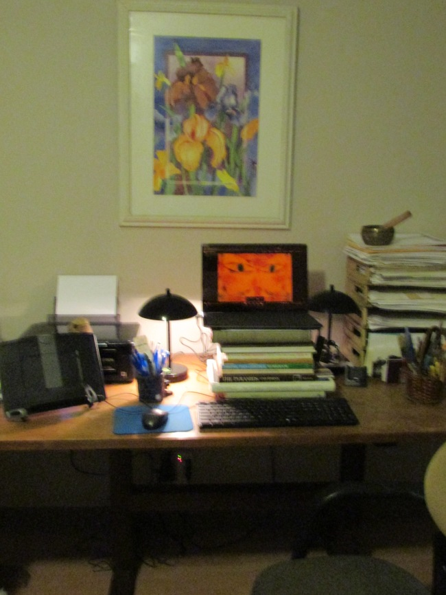 B.J.'s Study Workspace