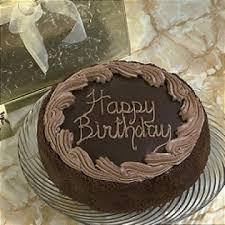 choc bday cake