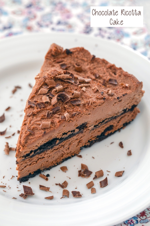 Chocolate-Ricotta-Cake