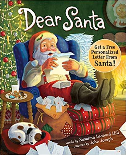 Dear Santa Amazon cover