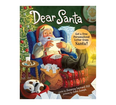 Dear Santa: For Everyone Who Believes in the Magic of Christmas book cover