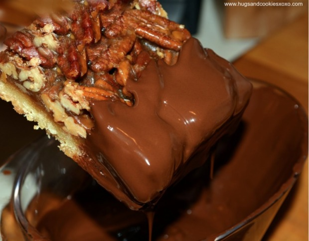 pecan-pie-bars-dipped-chocolate