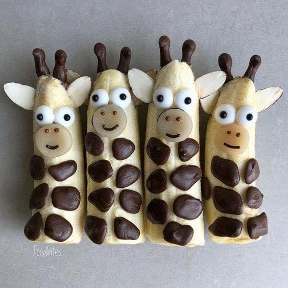 Banana giraffes