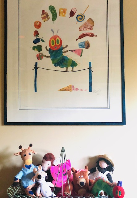 Claire's office Eric Carle
