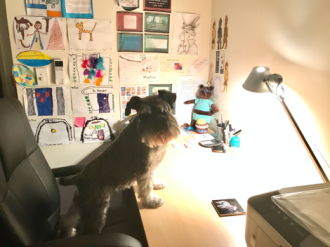 work space and work buddy