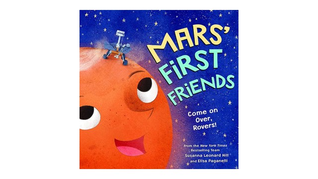 Mars' First Friends: Come on Over, Rovers! book cover